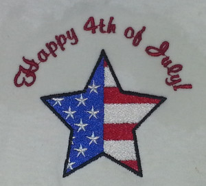 4th of July Star Flag