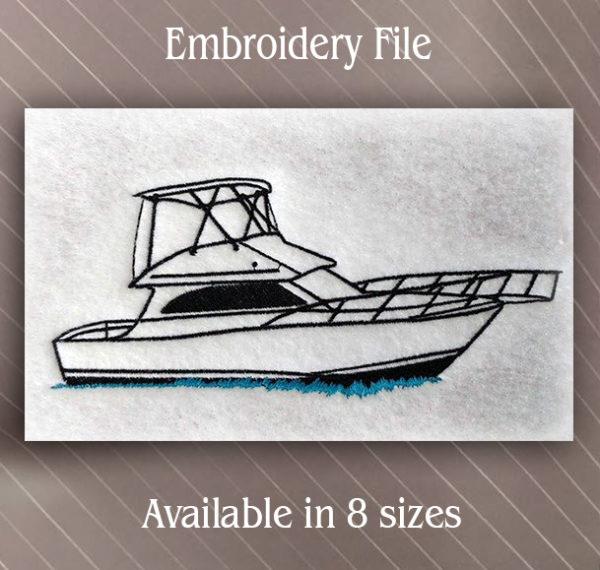 Yacht Boat Sport Fish