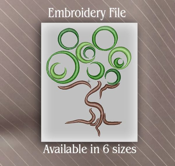 tree of life embroidery file